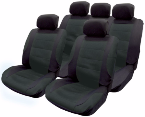 Full set seat covers black