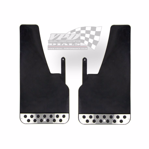 Race Rally Heavy duty Black mud flaps