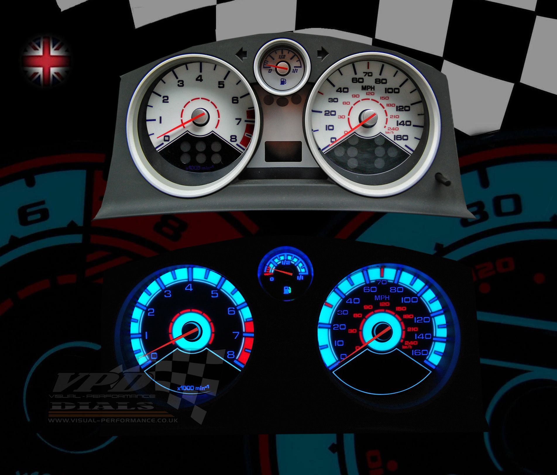 Auto-Tuning & -Styling Vauxhall Astra H VXR Carbon Effect Gauges ...